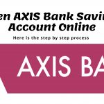 How to open AXIS Bank Savings account online?