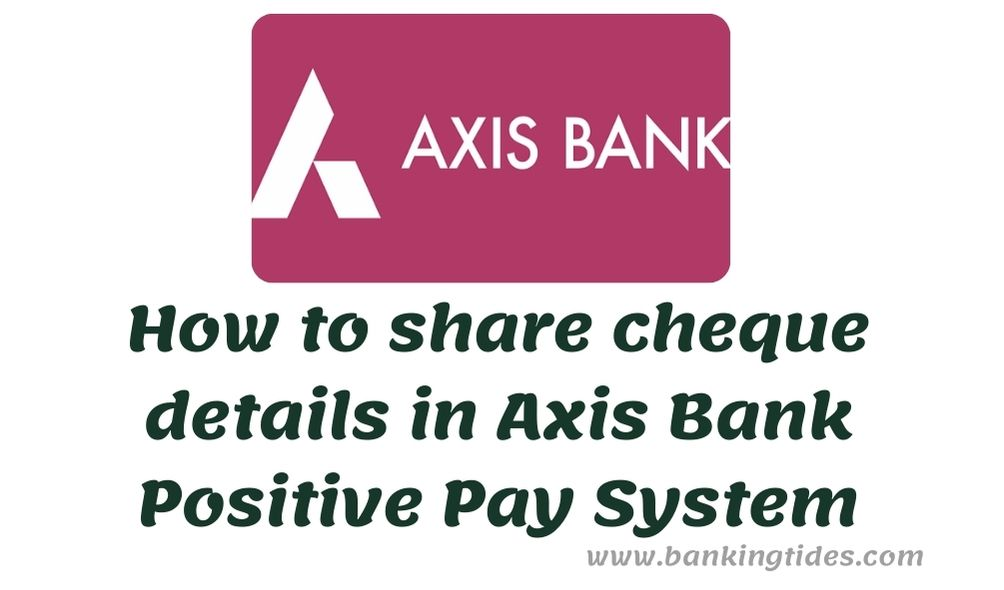 Axis Bank PPS